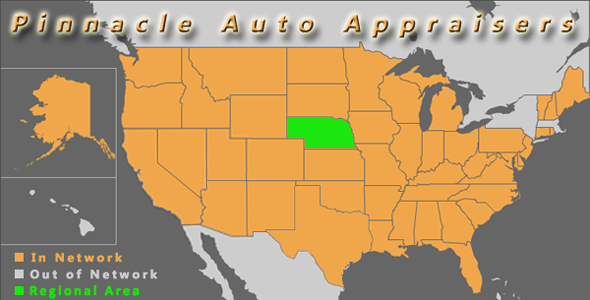 map nebraska auto appraiser appraisal diminished value